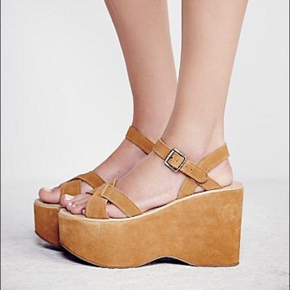 010bc8ede92 kork-ease Shoes - Kork-Ease Kork Ease Heights Suede Platforms 40